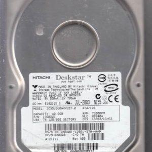 Hitachi IC35L060AVV207-0 40GB