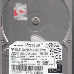 Hitachi IC35L080AVVA07-0 80GB
