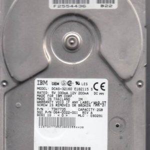 Hitachi DCAS-32160 2GB