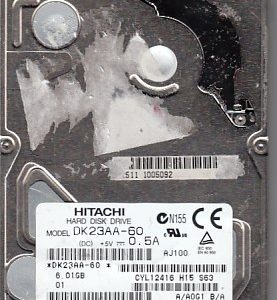 Hitachi DK23AA-60 6.01GB