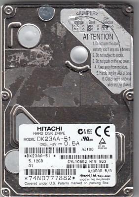 Hitachi DK23AA-51 5.12GB