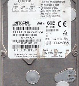 Hitachi DK23CA-20 20GB