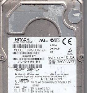 Hitachi DK23BA-20 20GB