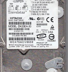 Hitachi DK23EA-30 30GB