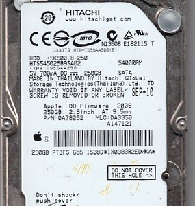 Hitachi HTS545025B9SA02 250GB