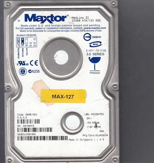 Maxtor 5A250J0 250GB