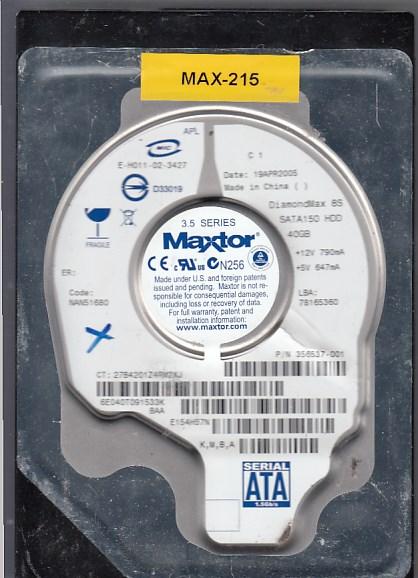 Maxtor 6E040T0 40GB