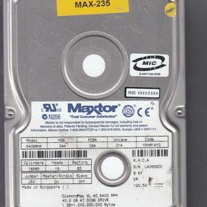 Maxtor 34098H4 40GB