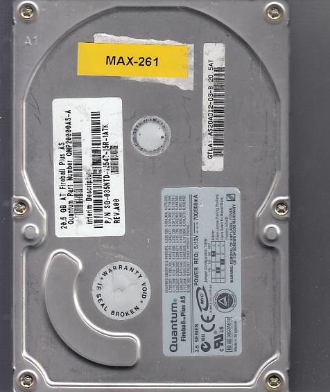 Maxtor - 20.5GB