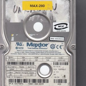 Maxtor 51536H2 15.3GB