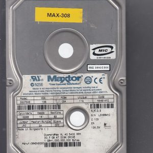 Maxtor 33073H3 30.7GB