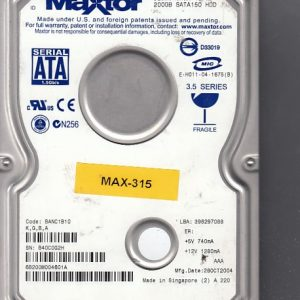 Maxtor 6B200M0 200GB