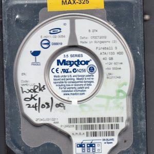 Maxtor 2F040J0 40GB