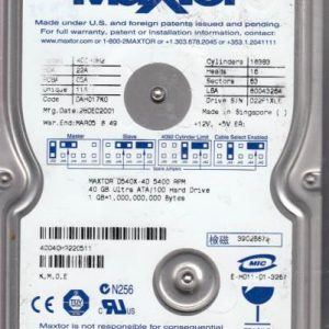 Maxtor 4D040H2 40GB