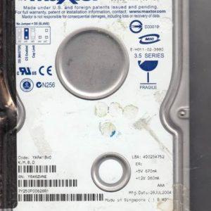 Maxtor YAR41BW0 250GB
