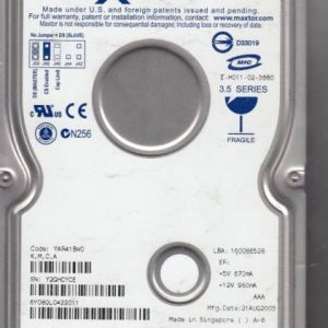 Maxtor YAR41BW0 80GB