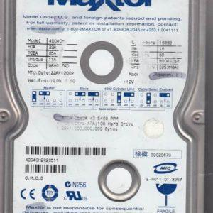 Maxtor 4D040H 40GB
