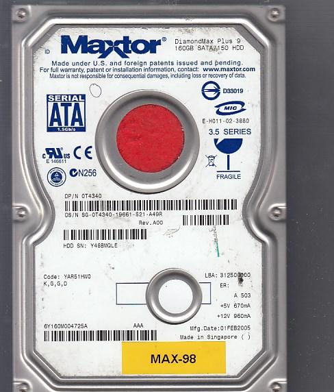 Maxtor 6Y160M0 160GB