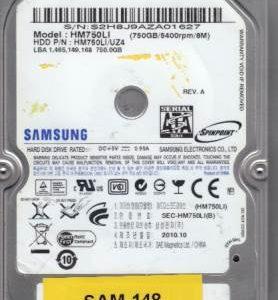 Samsung HM750LI 750GB