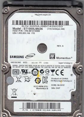 Samsung ST1000LM026 1TB