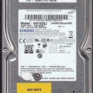 Samsung HD103SJ 1000