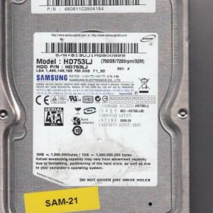 Samsung HD753LJ 750GB