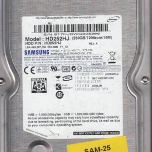 Samsung HD252HJ 250GB