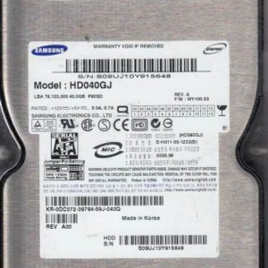 Samsung HD040GJ 40GB
