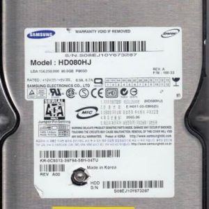 Samsung HD080HJ 80GB