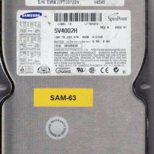 Samsung SV4002H 40GB