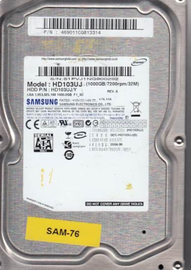 Samsung HD103UJ 1TB