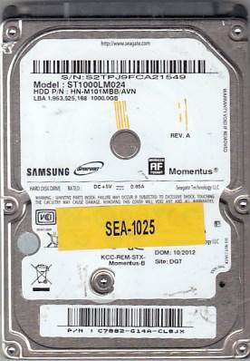 Seagate ST1000LM024 1000GB