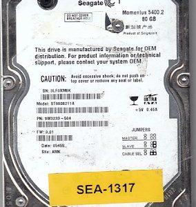 Seagate ST9808211A 80GB