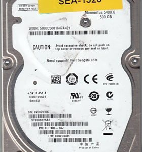 Seagate ST9500325AS 500GB
