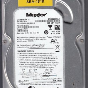 Seagate STM3320614AS 320GB