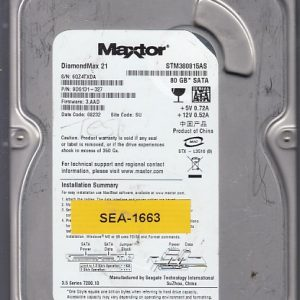 Seagate STM380815AS 80GB