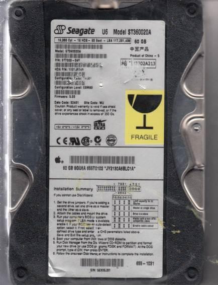 Seagate ST360020A 60GB