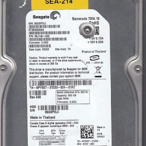 Seagate ST3500630AS 500GB