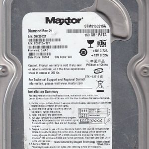 Seagate STM3160215A 160GB