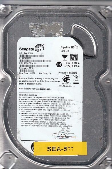 Seagate ST3320311CS 320GB