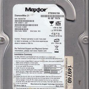 Seagate STM380215A 80GB