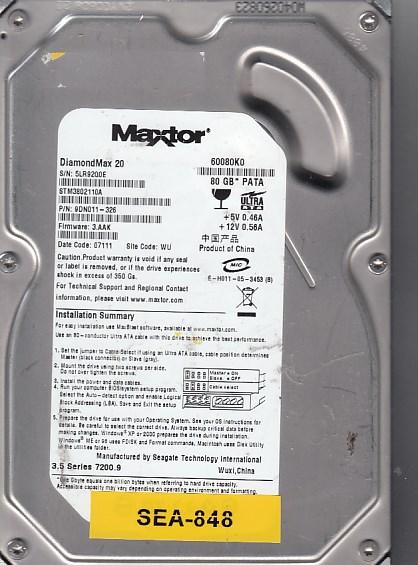 Seagate 60080K0 80GB