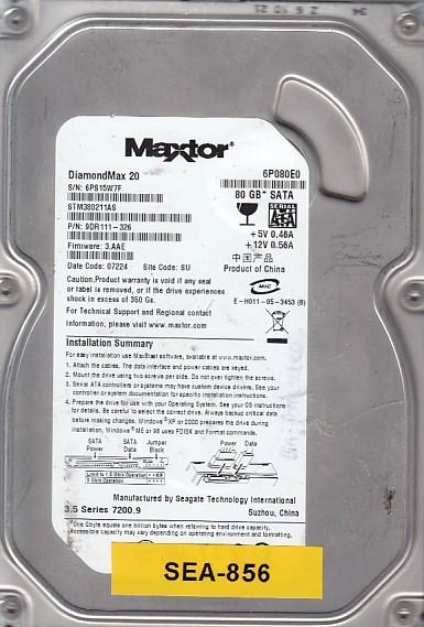 Seagate 6P080E0 80GB