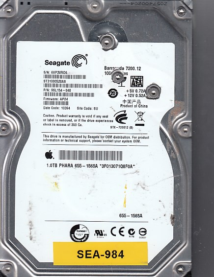 Seagate ST31000528AS 1000GB