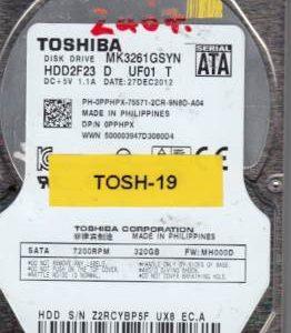 Toshiba MK3261GSYN 320GB