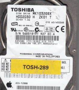 Toshiba MK1032GSX 100GB
