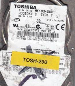 Toshiba MK1034GSX 100GB