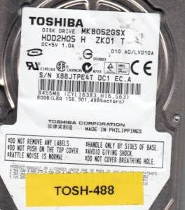Toshiba MK8052GSX 80GB