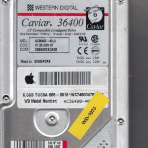 Western Digital AC36400-40LC 6GB