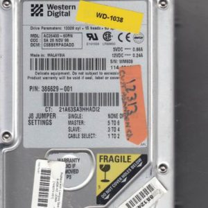 Western Digital AC26400-60RN 6GB
